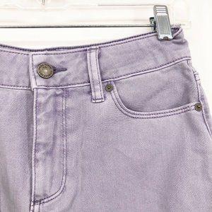 PAIGE Skirts - Paige x Revolve Denim Skirt Aiden Mini Jean Frayed